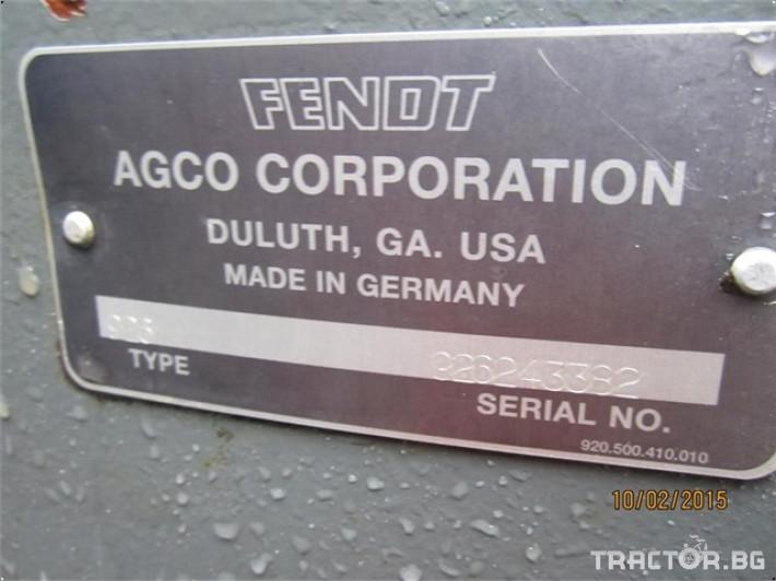 Трактори Fendt 926 Vario 2 - Трактор БГ