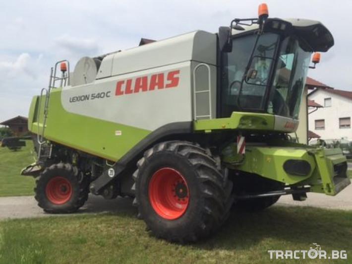 Комбайни Claas Lexion 540 C 0 - Трактор БГ