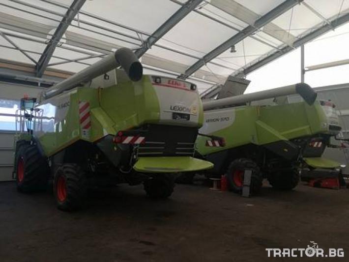 Комбайни Claas Lexion 540 C 3 - Трактор БГ
