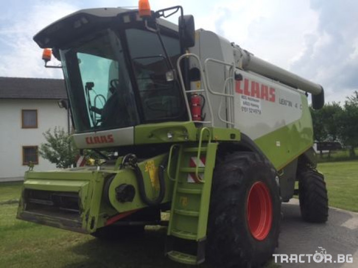 Комбайни Claas Lexion 540 C 6 - Трактор БГ