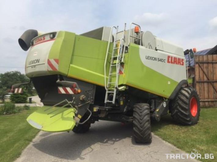Комбайни Claas Lexion 540 C 8 - Трактор БГ